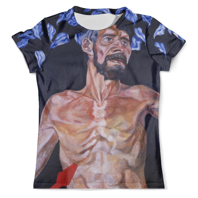 Футболка с полной запечаткой (мужская) Printio Голгофа футболка с полной запечаткой мужская printio картина