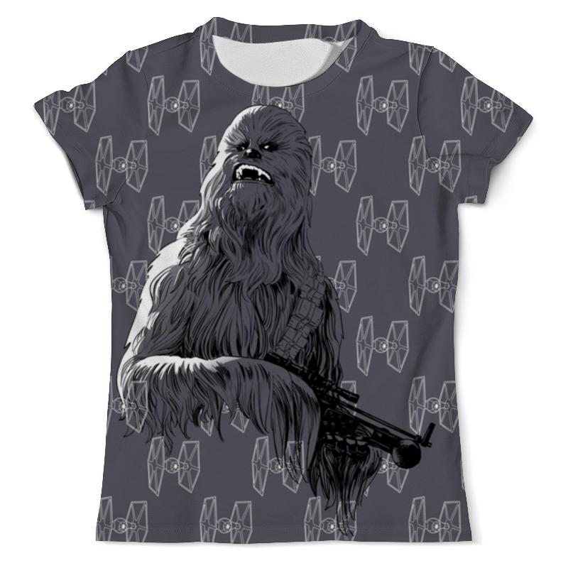 Футболка с полной запечаткой (мужская) Printio Star wars - chewbacca футболка wearcraft premium printio chewbacca star wars