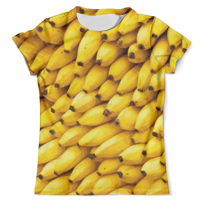 Футболка с полной запечаткой (мужская) Printio Бананы 3d мужская одежда
