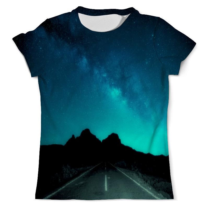 Фото - Футболка с полной запечаткой (мужская) Printio Ночная дорога футболка с полной запечаткой мужская printio ночная дорога