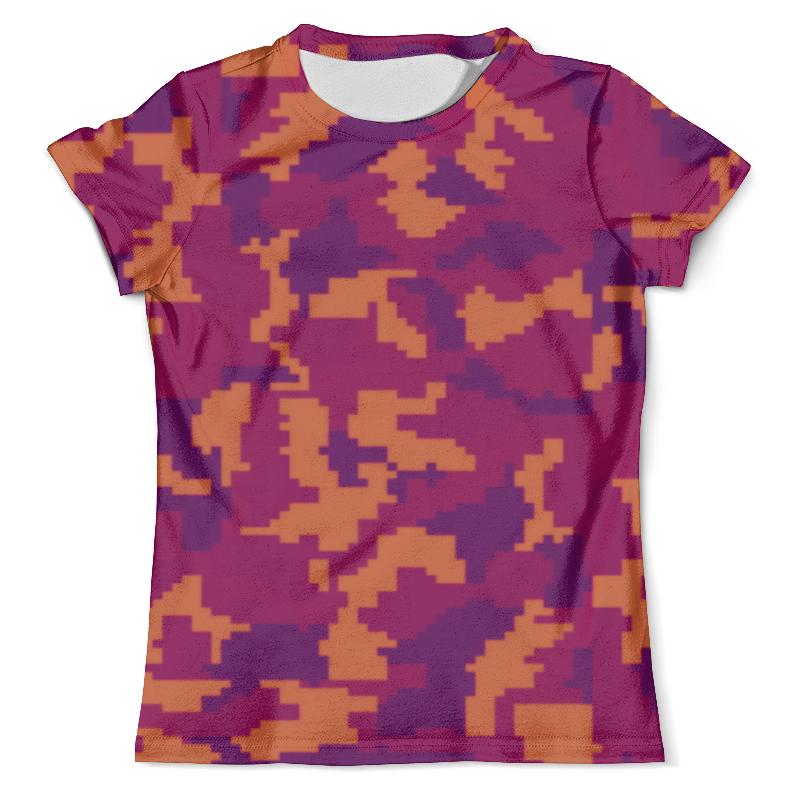 Футболка с полной запечаткой (мужская) Printio Night camouflage цены