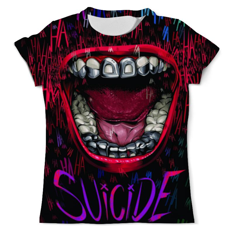 Футболка с полной запечаткой (мужская) Printio Отряд самоубийц   suicide squad футболка с полной запечаткой мужская printio отряд самоубийц