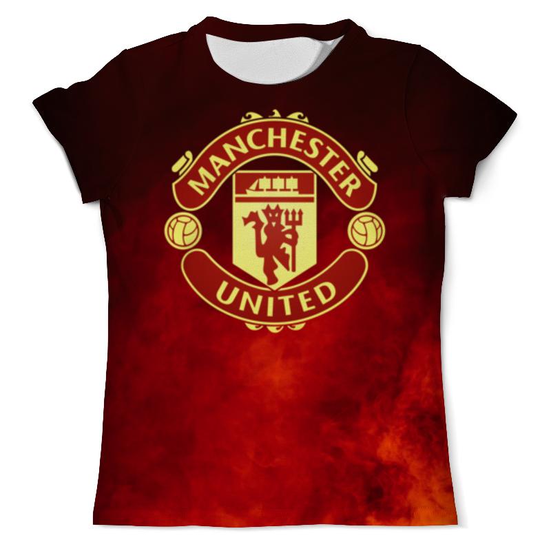 Printio Манчестер юнайтед футболка с полной запечаткой для мальчиков printio манчестер юнайтед