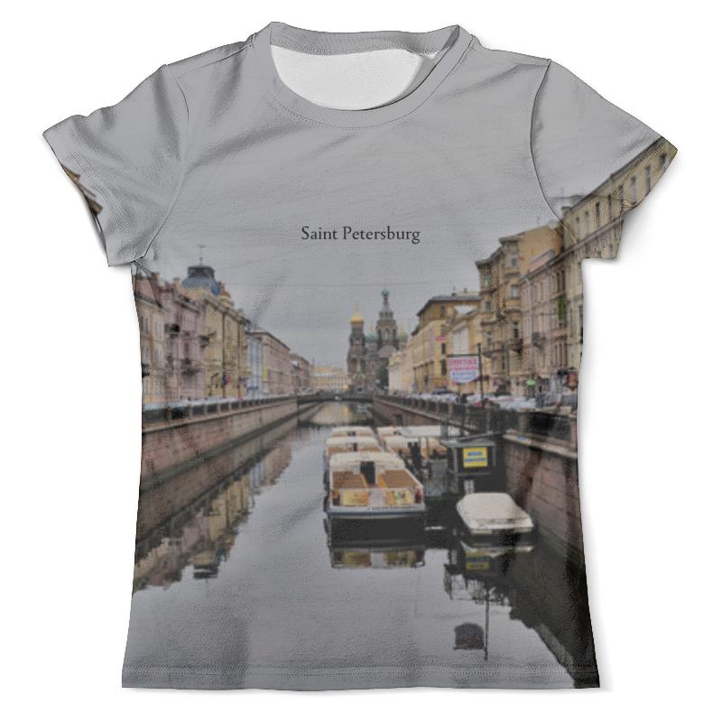 Футболка с полной запечаткой (мужская) Printio Петербург футболка с полной запечаткой мужская printio санкт петербург