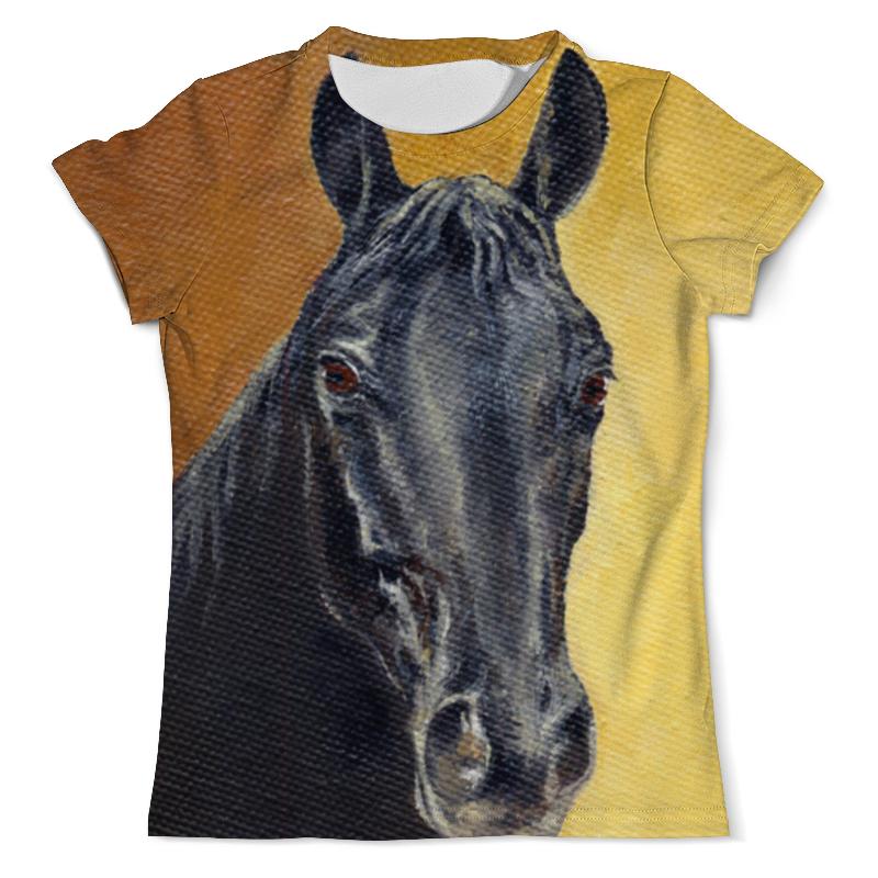 Printio Портрет лошади футболка с полной запечаткой мужская printio портрет феликса фенеона