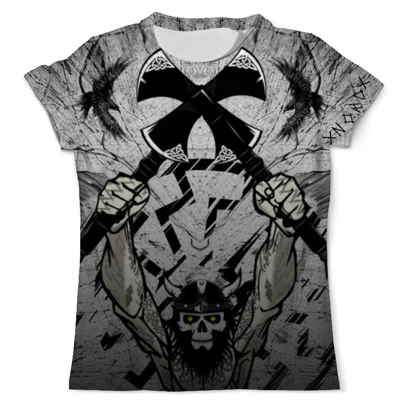 Футболка с полной запечаткой (мужская) Printio Викинг. воинам смерти нет !!! футболка с полной запечаткой мужская printio солдаты смерти