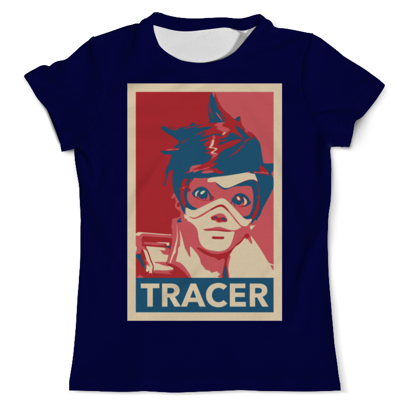 Printio Трейсер футболка с полной запечаткой женская printio трейсер