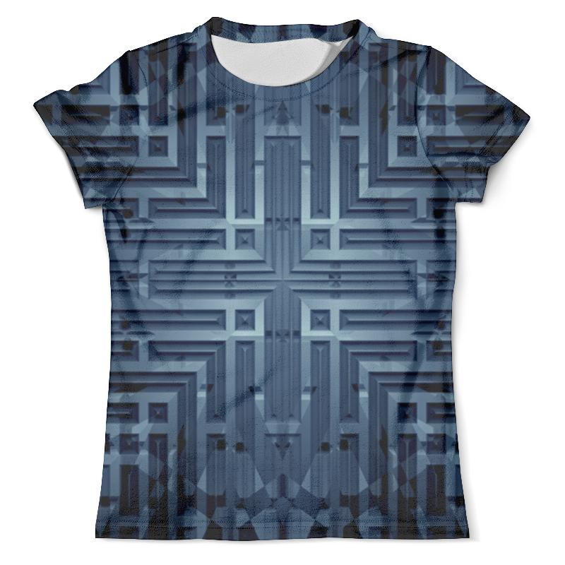 Футболка с полной запечаткой (мужская) Printio Узор по металлу футболка с полной запечаткой мужская printio и по