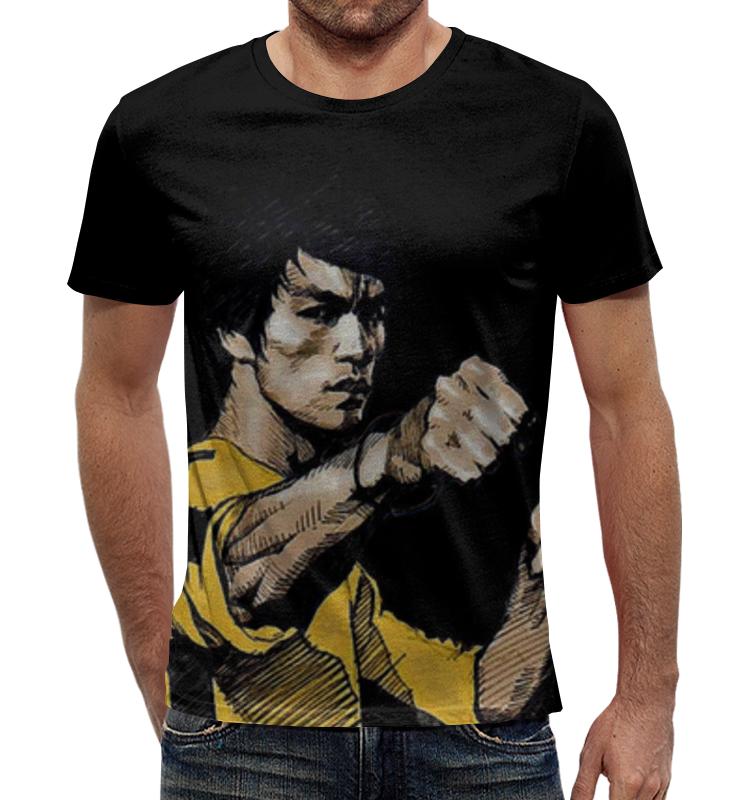 Футболка с полной запечаткой Printio Брюс ли футболка с полной запечаткой printio важнейшее из искусств мужская
