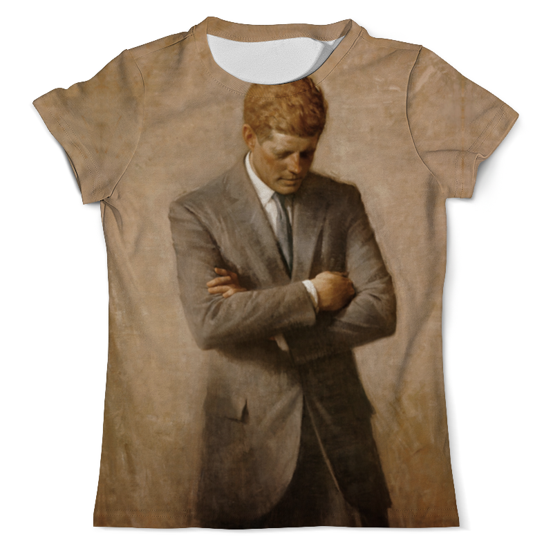 Printio Портрет президента джона ф. кеннеди. цены онлайн