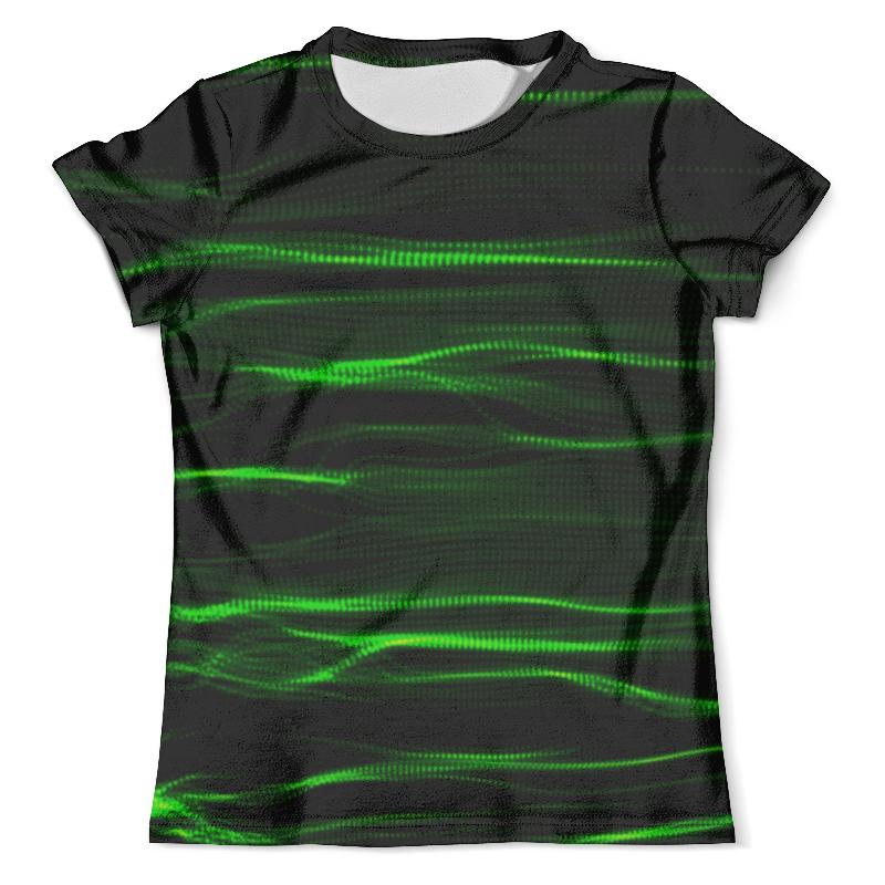 Футболка с полной запечаткой (мужская) Printio Зеленые линии юбка в складку printio зеленые линии