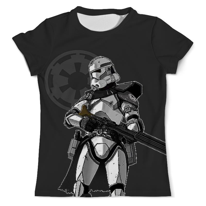 Футболка с полной запечаткой (мужская) Printio Star wars design (stormtrooper) star design body chain