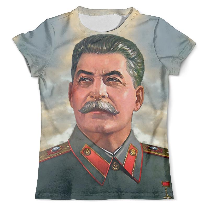 Футболка с полной запечаткой (мужская) Printio Stalin stalin