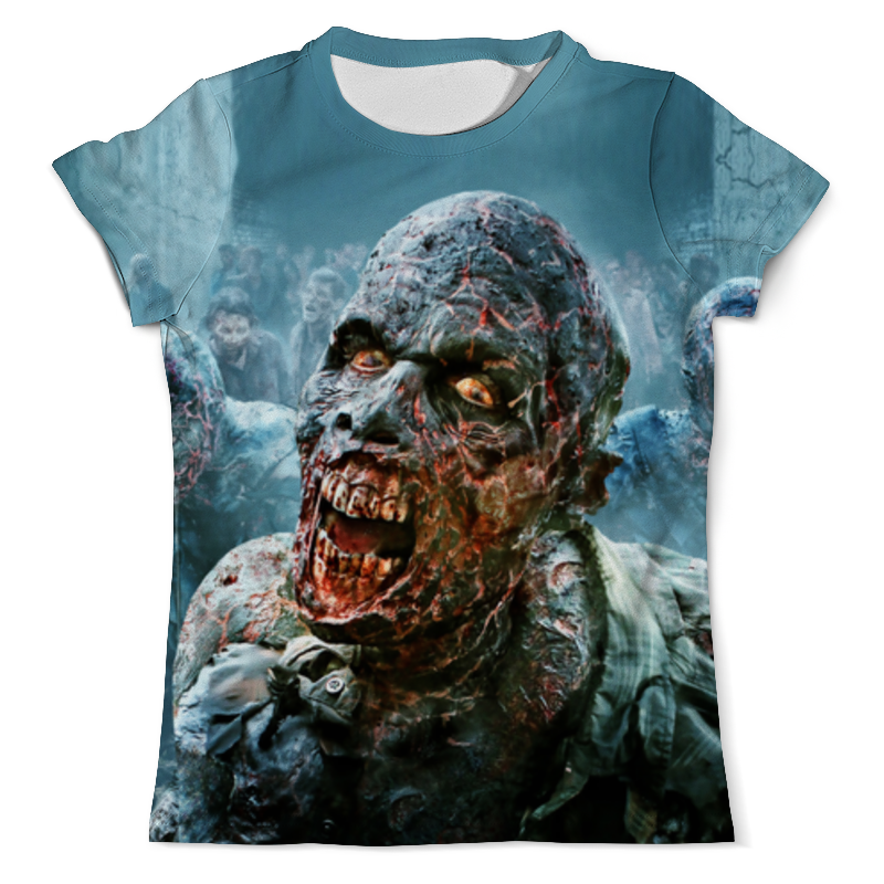 Футболка с полной запечаткой (мужская) Printio Zombie ice футболка с полной запечаткой мужская printio zombie ice