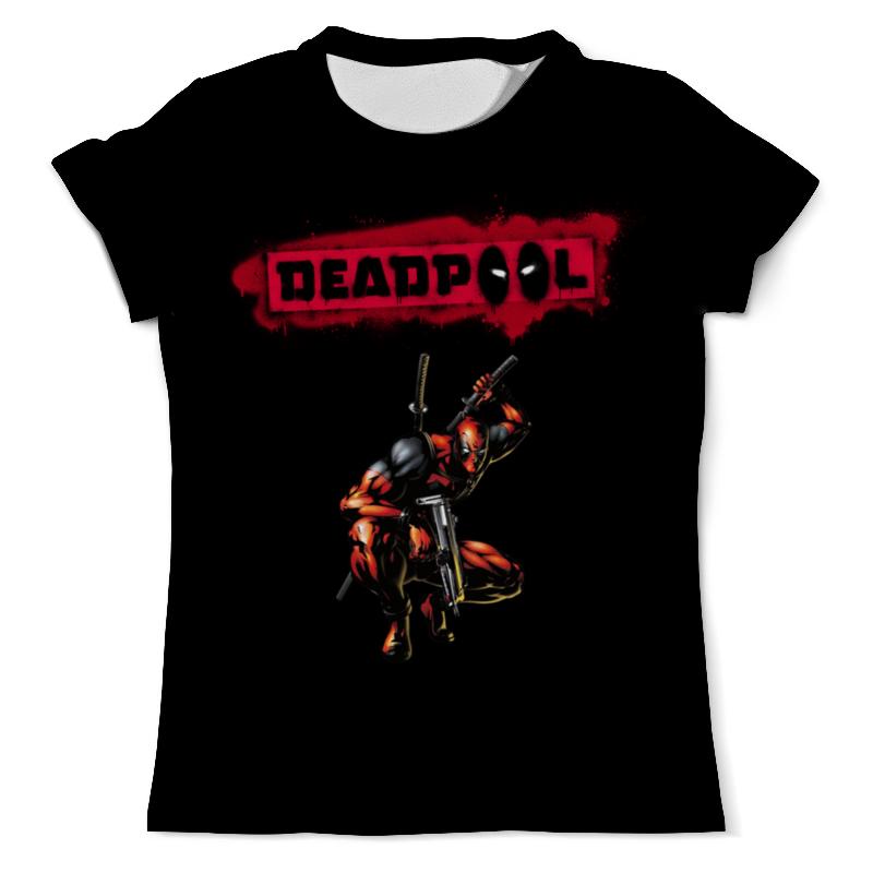 Фото - Printio Deadpool футболка с полной запечаткой мужская printio deadpool joke