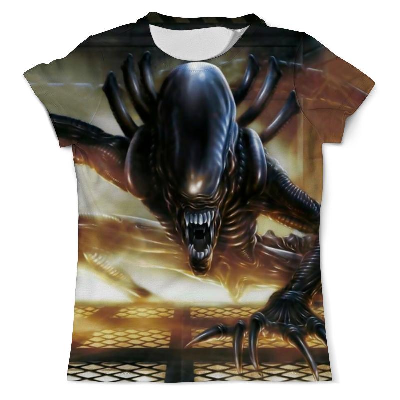 Футболка с полной запечаткой (мужская) Printio Alien / чужой футболка с полной запечаткой мужская printio чужой 4