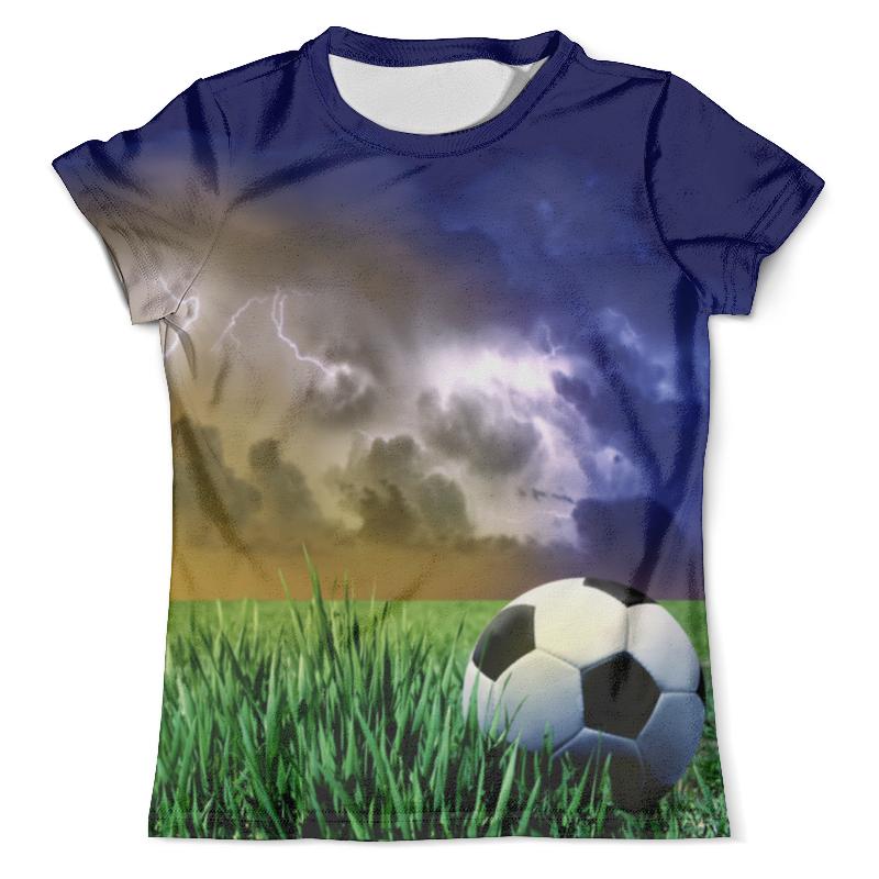 Фото Футболка с полной запечаткой (мужская) Printio Футбол (1)