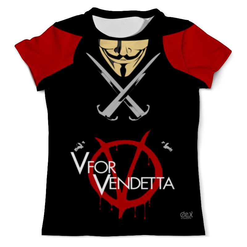 Футболка с полной запечаткой (мужская) Printio V for vendetta футболка с полной запечаткой женская printio v значит вендетта