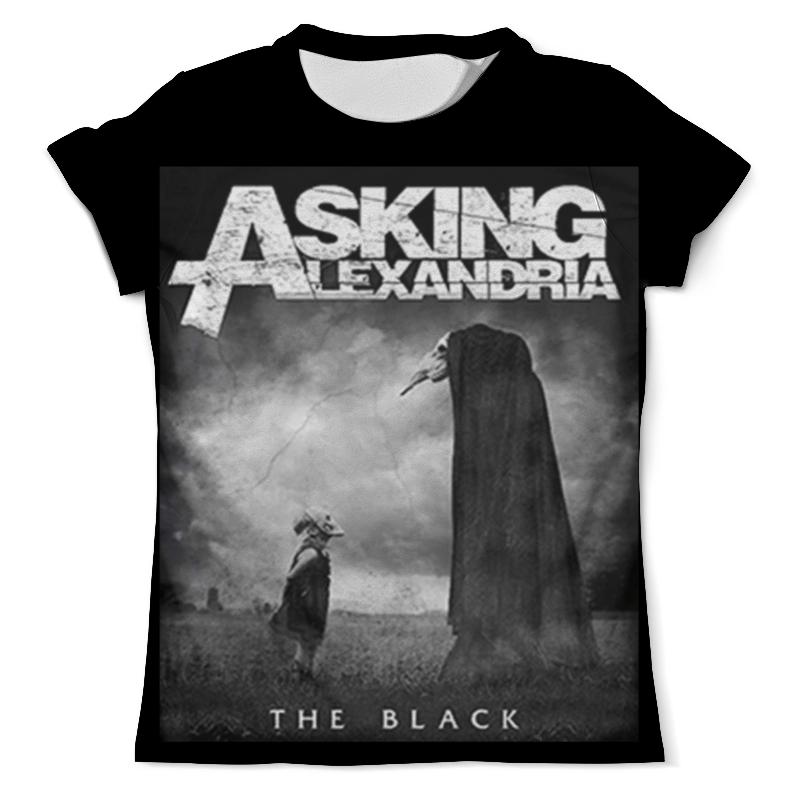 Футболка с полной запечаткой (мужская) Printio Asking alexandria the black футболка с полной запечаткой мужская printio the phantom menace