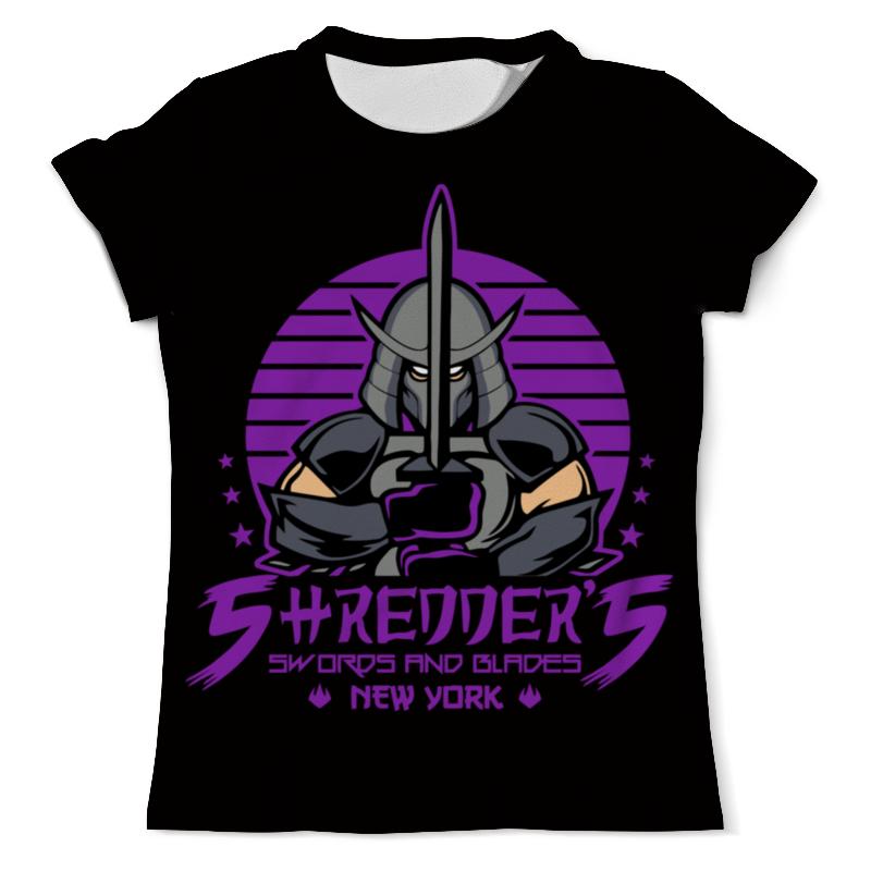 Футболка с полной запечаткой (мужская) Printio Шреддер футболка с полной запечаткой для девочек printio шреддер