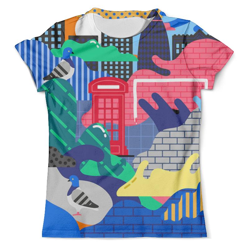 Футболка с полной запечаткой (мужская) Printio Abstract city