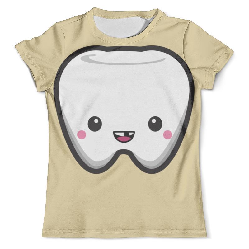 Футболка с полной запечаткой (мужская) Printio Tooth / зуб