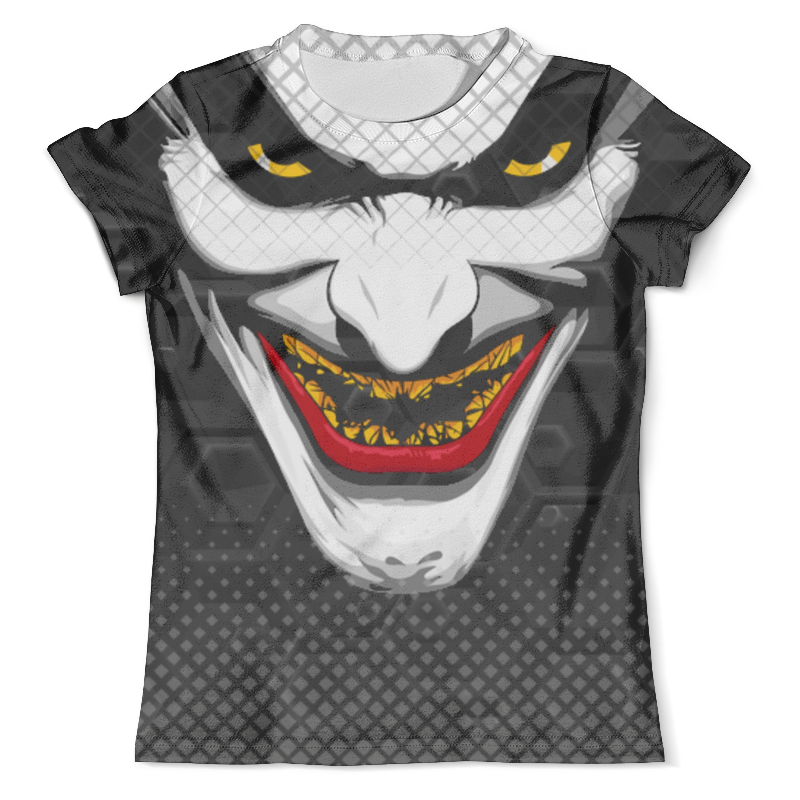 Футболка с полной запечаткой (мужская) Printio The joker design (new)