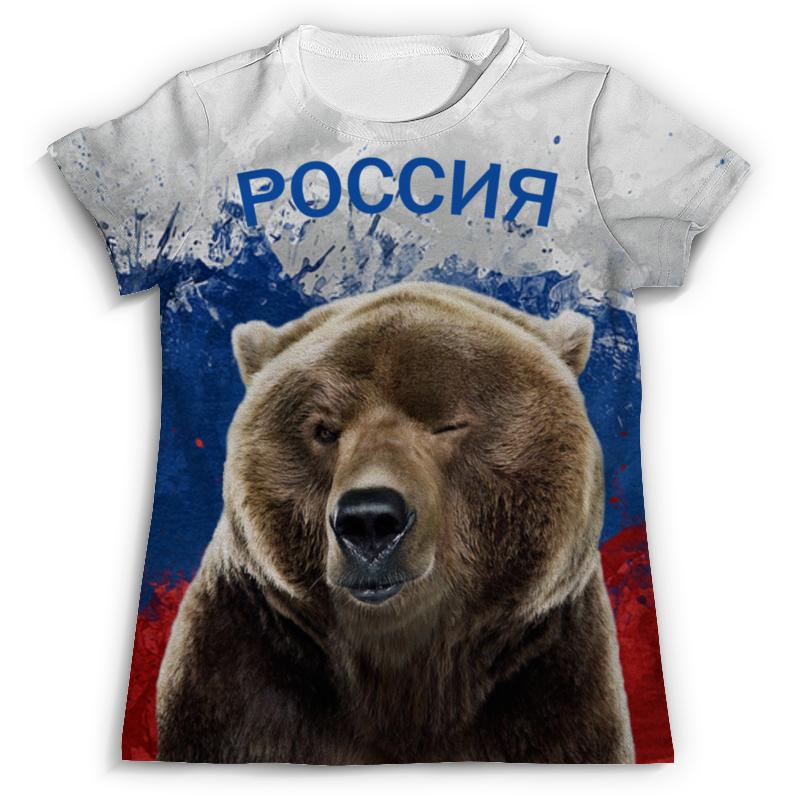 Футболка с полной запечаткой Printio Россия футболка с полной запечаткой printio москва россия
