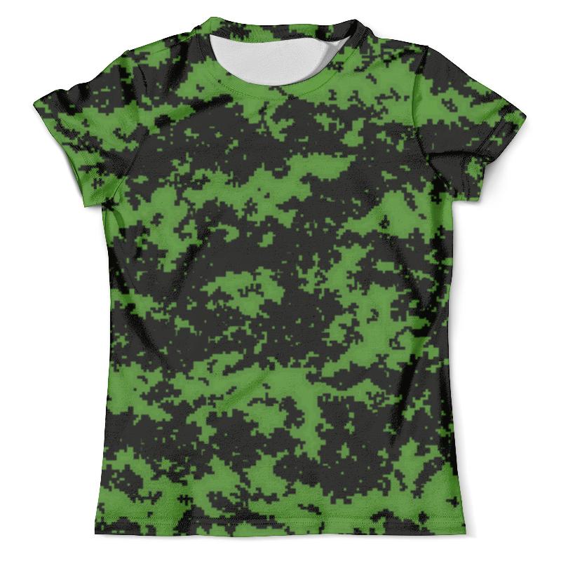 Футболка с полной запечаткой (мужская) Printio Green camouflage xintown camouflage winter long sleeved