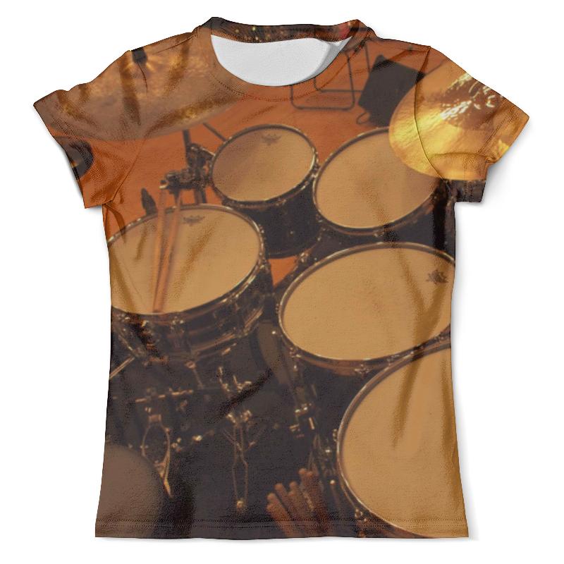 Футболка с полной запечаткой (мужская) Printio Drums кружка printio drums