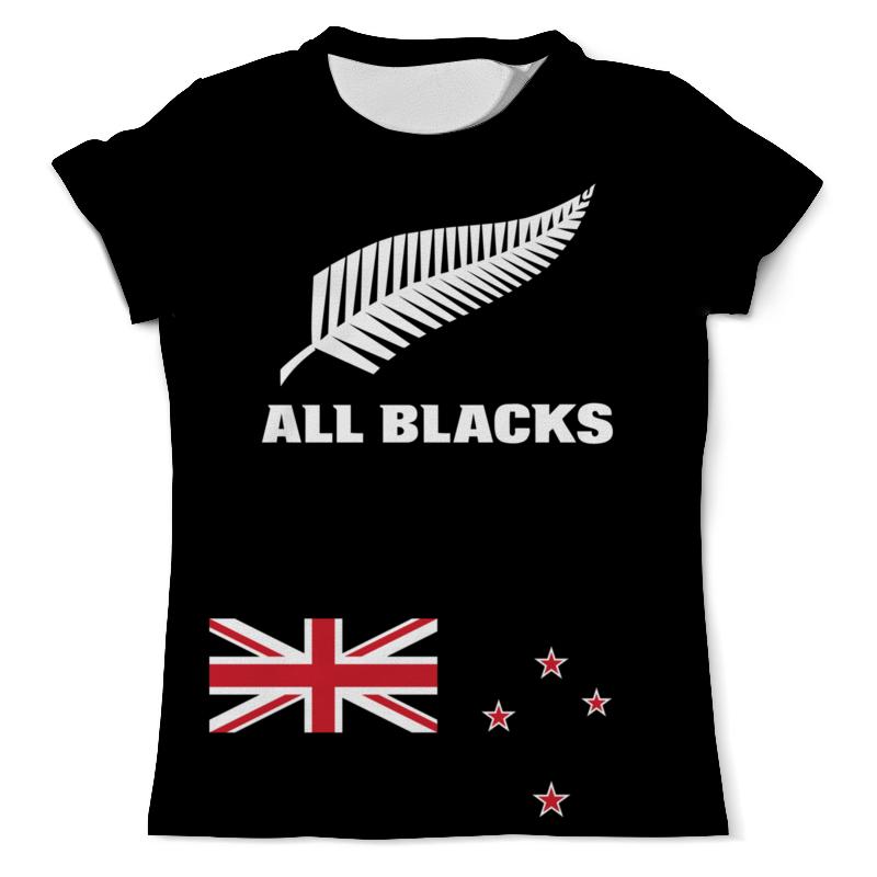 Printio Новая зеландия регби лонгслив printio чемпионы регби новая зеландия