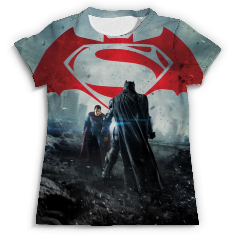 Футболка с полной запечаткой (мужская) Printio Бэтмен против супермена футболка классическая printio бэтмен против супермена