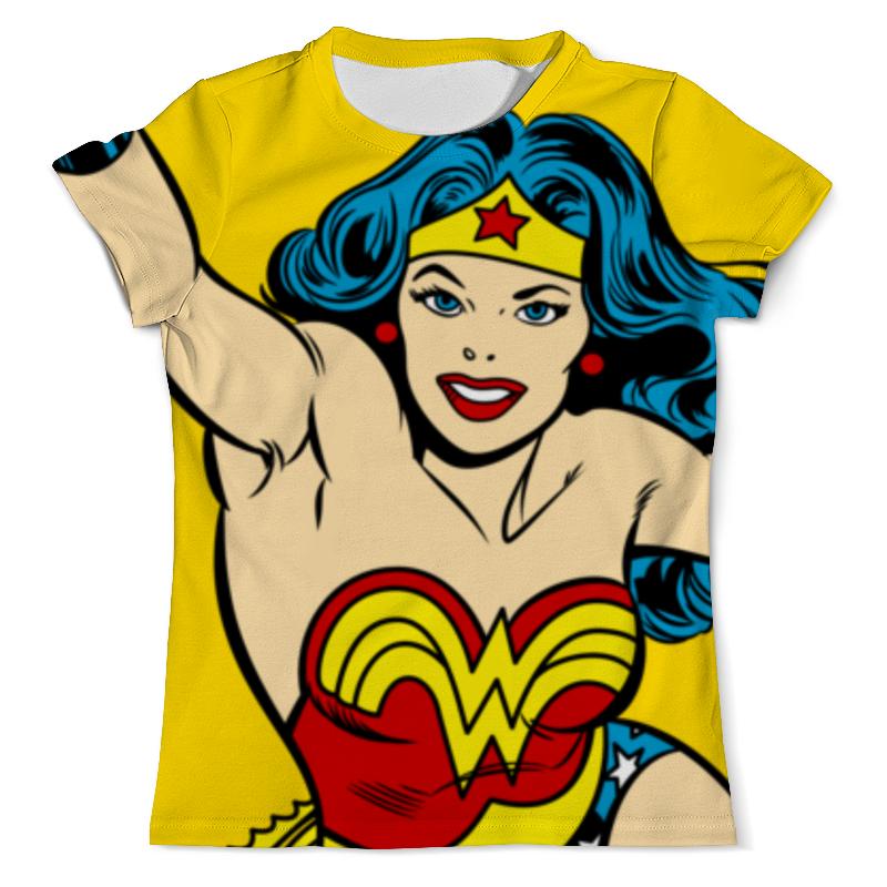 Футболка с полной запечаткой (мужская) Printio Чудо-женщина футболка с полной запечаткой мужская printio чудо женщина
