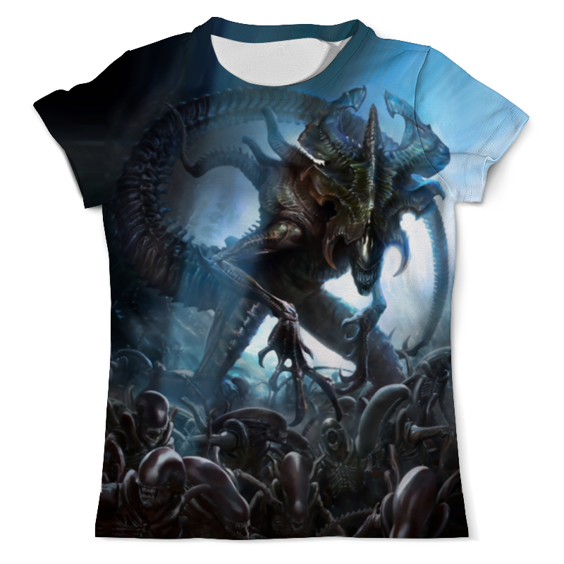 Printio Alien king футболка с полной запечаткой мужская printio king of the beasts