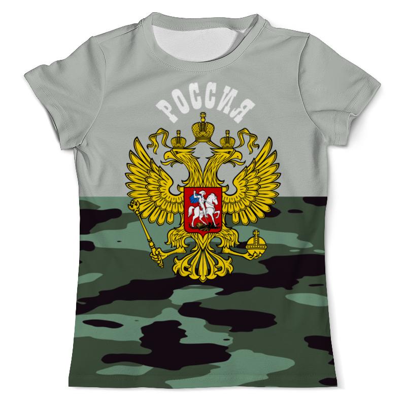 Футболка с полной запечаткой (мужская) Printio Герб рф футболка с полной запечаткой мужская printio герб рф