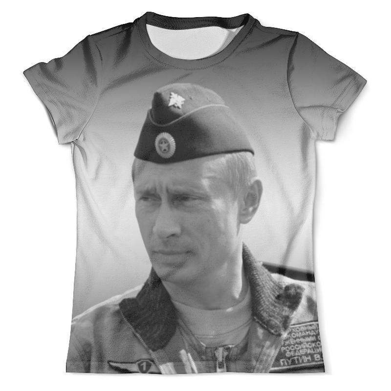 Футболка с полной запечаткой (мужская) Printio Путин футболка с полной запечаткой мужская printio путин casual collection