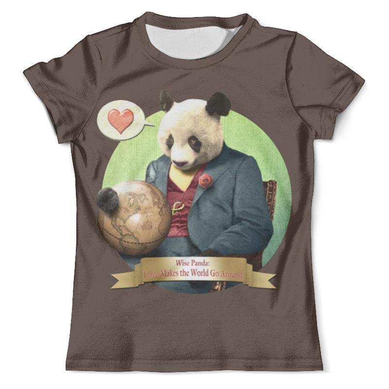Футболка с полной запечаткой (мужская) Printio Влюблённая панда футболка с полной запечаткой мужская printio панда