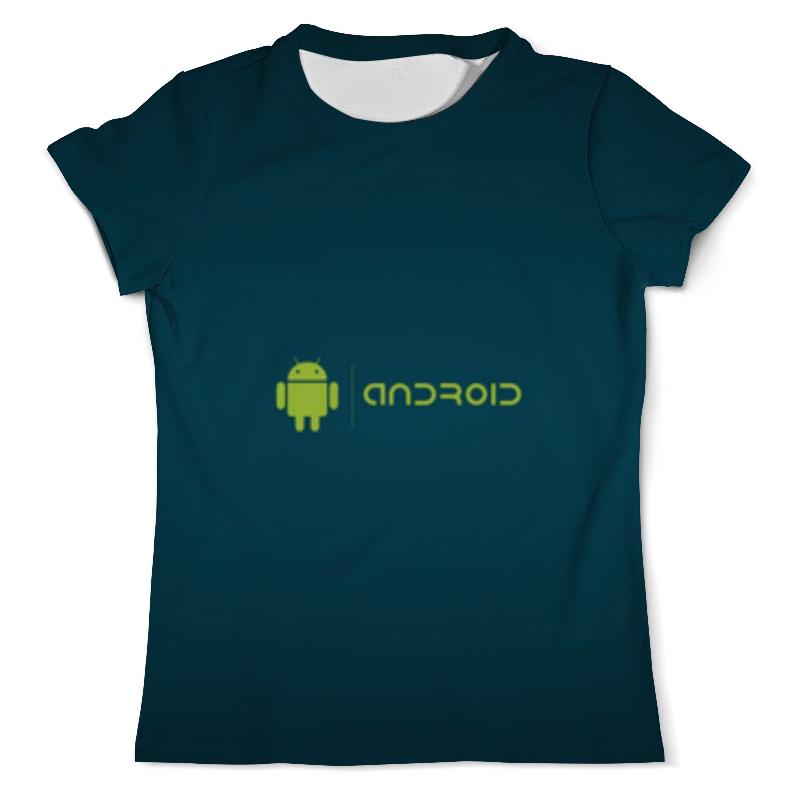 Футболка с полной запечаткой (мужская) Printio Андроид футболка с полной запечаткой мужская printio вооружённые силы эмблема