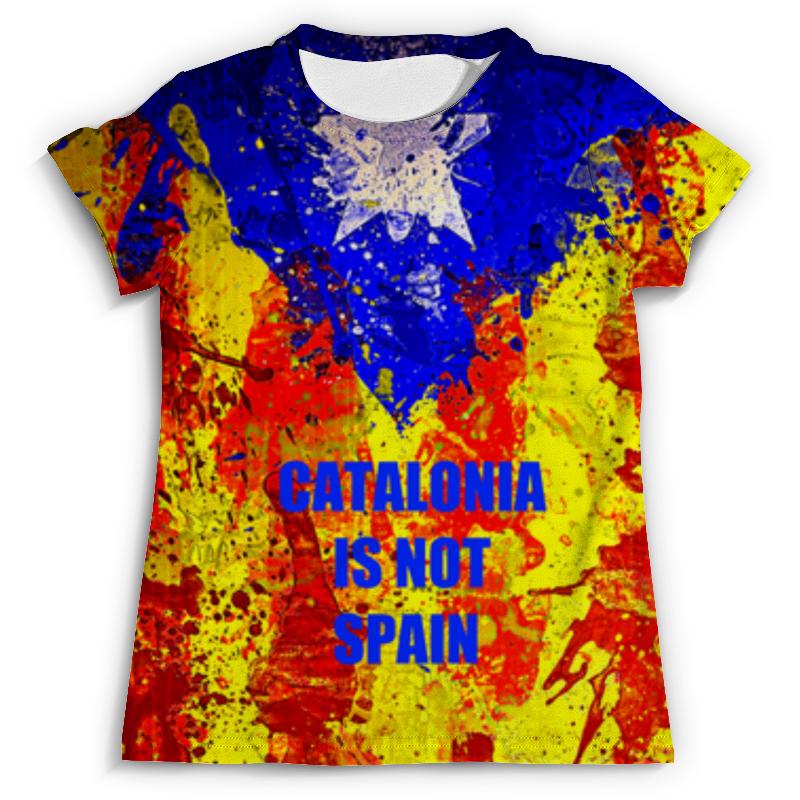 Футболка с полной запечаткой (мужская) Printio Свободная каталония бусы из содалита каталония