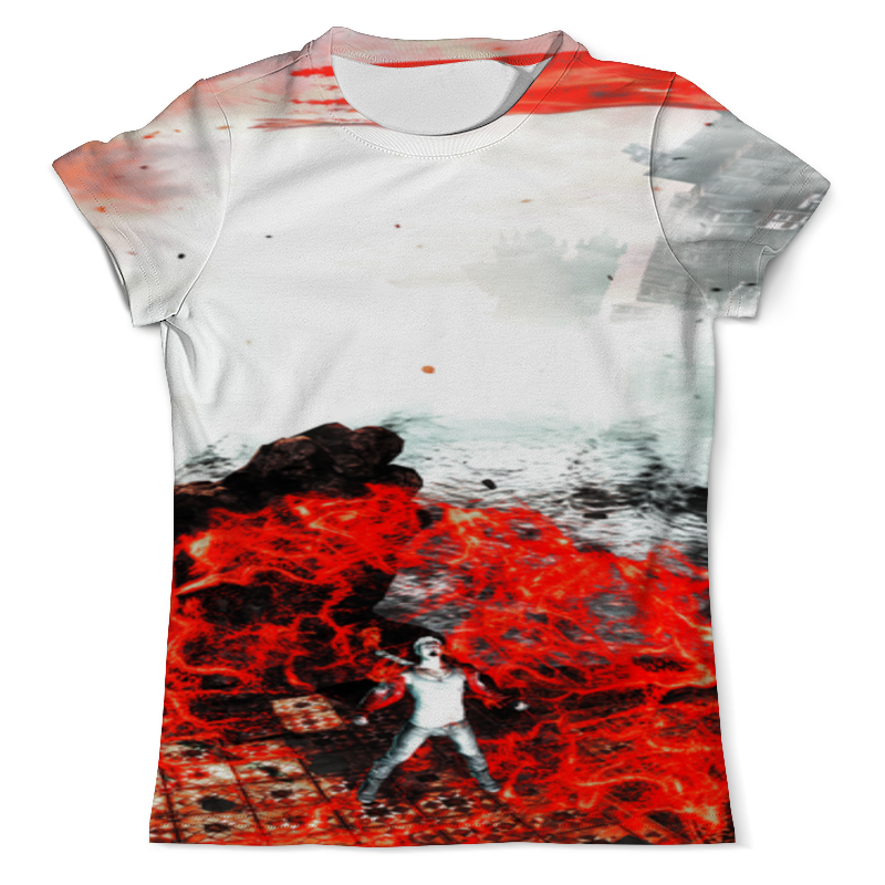 Футболка с полной запечаткой (мужская) Printio Devil may cry футболка с полной запечаткой мужская printio мерч группы devil s secrets