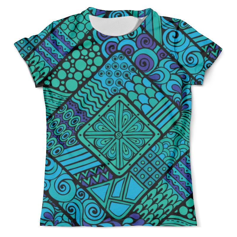 Футболка с полной запечаткой (мужская) Printio Орнамент футболка с полной запечаткой мужская printio сара керриган старкрафт