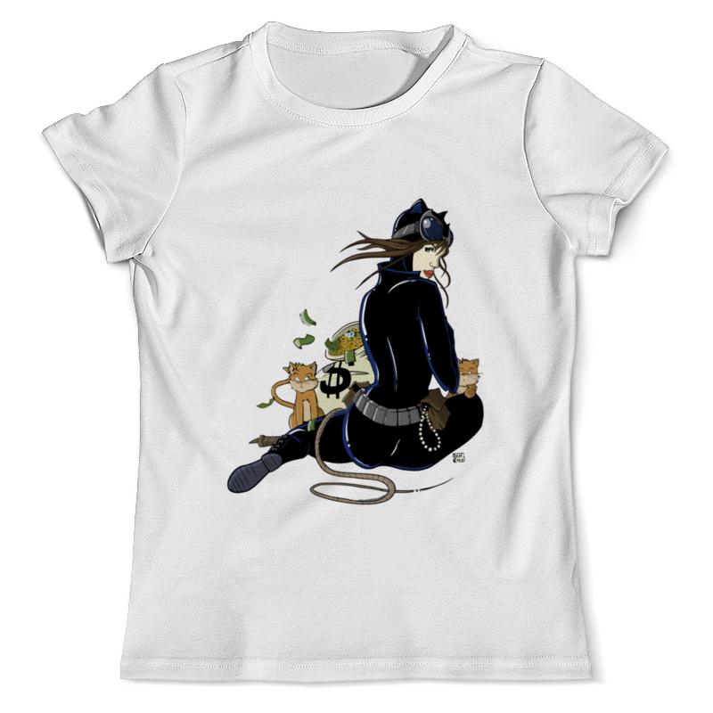 Фото - Футболка с полной запечаткой (мужская) Printio Женщина-кошка ( catwoman ) футболка рингер printio fat catwoman