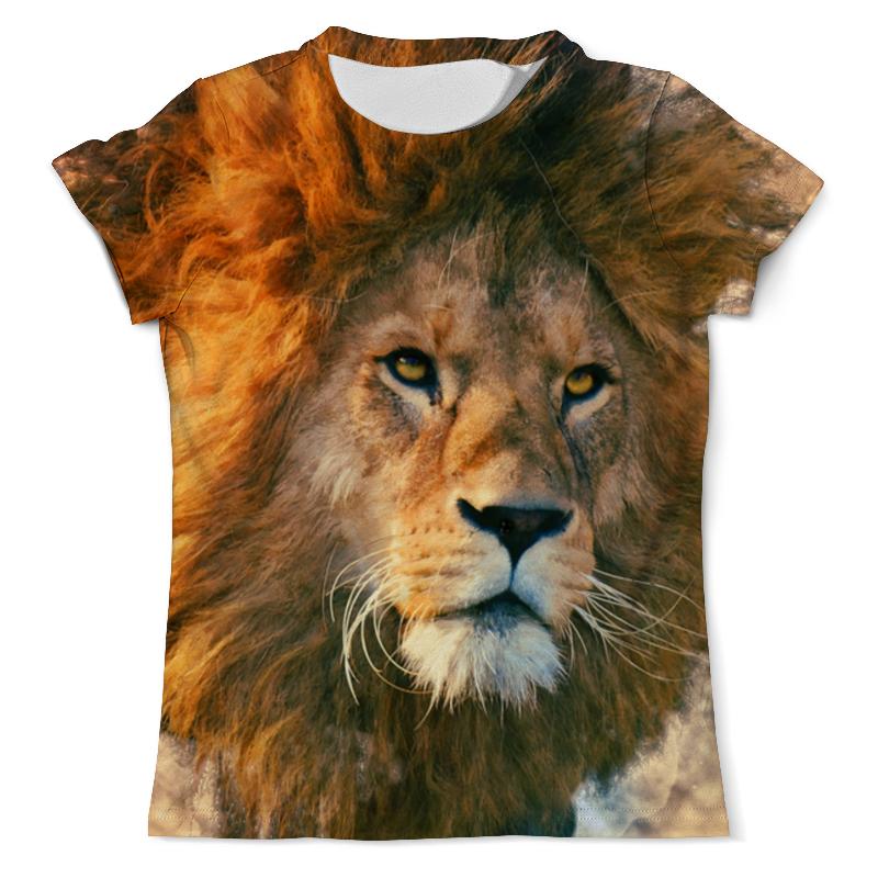 лучшая цена Printio Морда льва