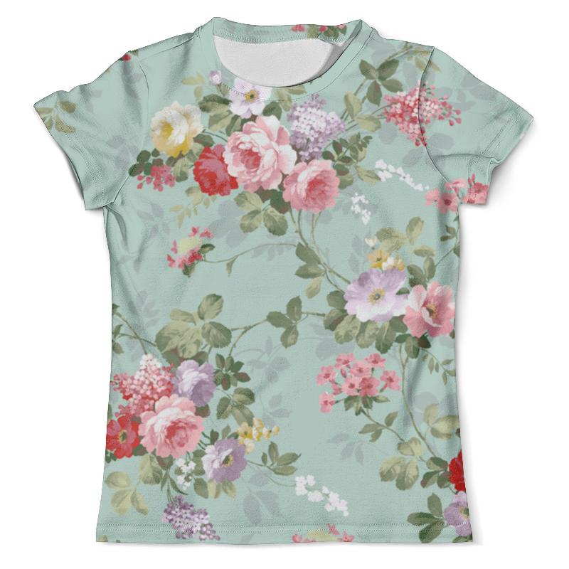 Футболка с полной запечаткой (мужская) Printio Цветы любви футболка с полной запечаткой printio цветы любви