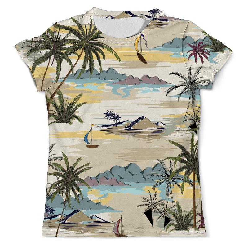 Printio Летний пейзаж футболка с полной запечаткой мужская printio летний речной бриз