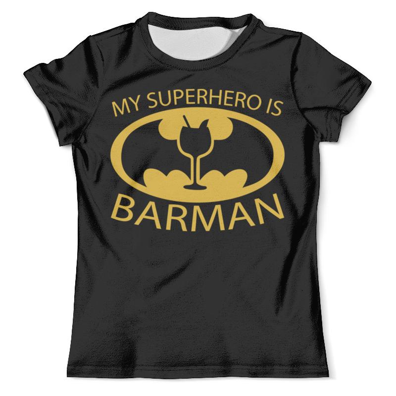 Футболка с полной запечаткой (мужская) Printio Бэтмен (batman) футболка с полной запечаткой для девочек printio batman x joker бэтмен