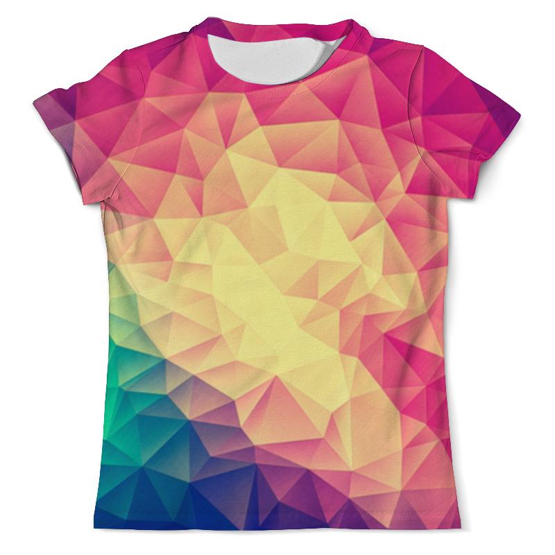 Футболка с полной запечаткой (мужская) Printio Яркая геометрия printio футболка с полной запечаткой мужская