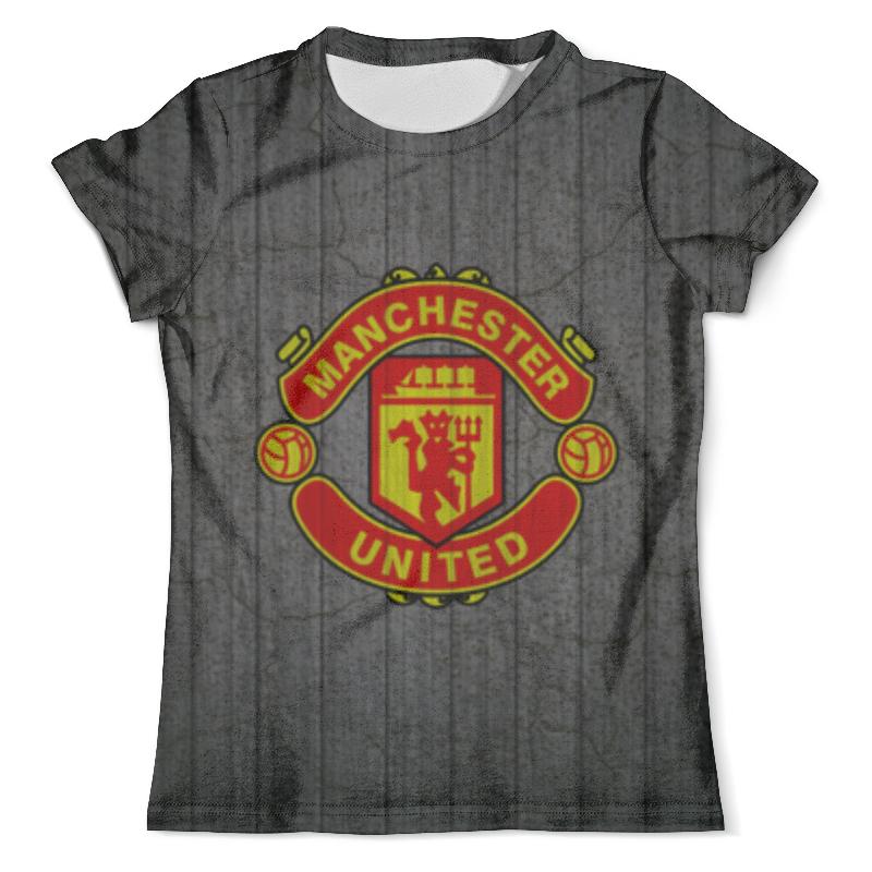 Футболка с полной запечаткой (мужская) Printio Манчестер юнайтед (мю) футболка манчестер юнайтед
