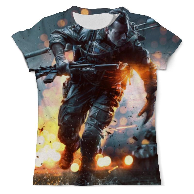 Футболка с полной запечаткой (мужская) Printio Солдат (battlefield) футболка с полной запечаткой мужская printio battlefield 1