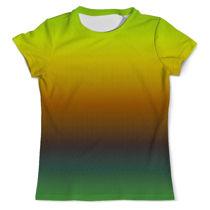 Футболка с полной запечаткой (мужская) Printio Переход цвета футболка с полной запечаткой мужская printio радуга цвета жизни